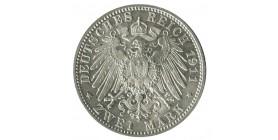 2 Marks Prince Leopold - Allemagne Bavière
