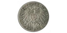 2 Marks Bi-Centenaire de la Prusse - Allemagne Prusse Argent