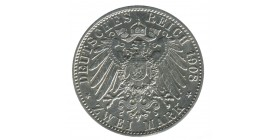 2 Marks - Allemagne Saxe-Weimar-Eisenach Argent