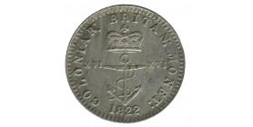 1/16 Dollar - Indes de l'Ouest Anglaises Argent
