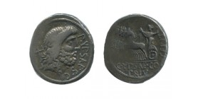Denier Plautius Hypsaeus République Romaine