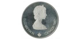 20 Dollars Elisabeth II J.o. Calgary Canada Argent