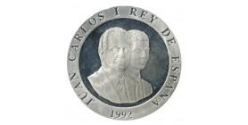 2000 Pesetas Juan Carlos Ier Espagne Argent