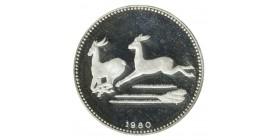 2000 Ekuele Guinée Equatoriale Argent