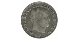 5 Soldi - Napoleon Imperator Italie Argent - Occupation Francaise