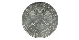 3 Roubles Russie Argent