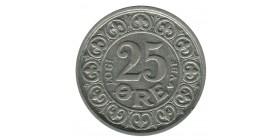 25 Ore Frederic VIII - Danemark Argent