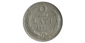 2 Lati - Lettonie Argent