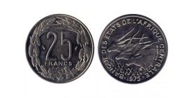 25 Francs Afrique Centrale