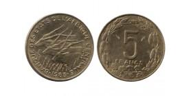 5 Francs Afrique Centrale
