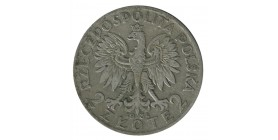 2 Zloty - Pologne Argent