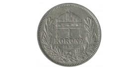 1 Couronne - Hongrie Argent