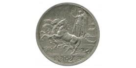 2 Lires Victor Emmanuel III - Italie Argent