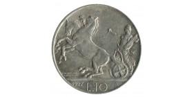 10 Lires Victor Emmanuel III - Italie Argent