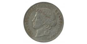 5 Francs Suisse Argent