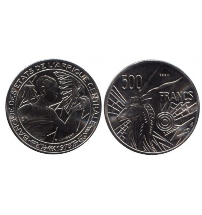 500 Francs Afrique Centrale