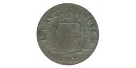 1 Kreuzer Maximilien IV - Allemagne Bavière Argent