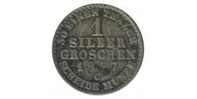 1 Silber Groschen Guillaume Ier - Allemagne Prusse Argent