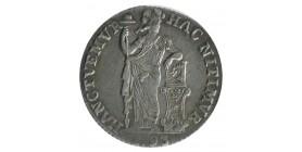 1 Gulden  - Pays Bas West-Friesland Argent