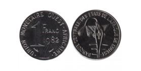 1 Franc Afrique de l'Ouest (Etats)