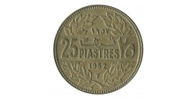 25 Piastres - Liban