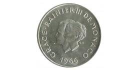 10 Francs Grace et Rainier III Xème Anniversaire de Mariage Monaco Argent