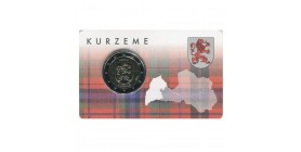 2 Euros Lettonie 2017 - Kurzeme B.U.