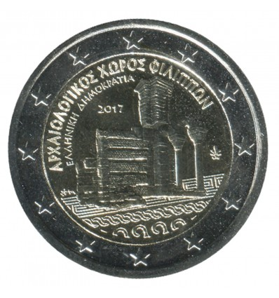 2 Euros Commémorative Grèce 2017 - Philippes