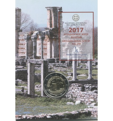 2 Euros Commémorative Grèce 2017 B.U. - Philippes