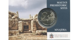 2 Euros Commémorative Malte 2018 B.U. - Temples Mnajdra