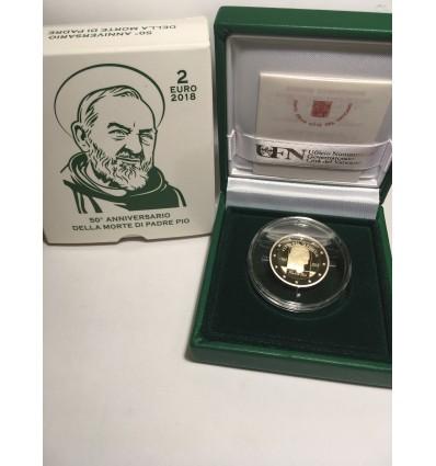 2 Euros Commémorative Vatican 2018 BE - Padre Pio