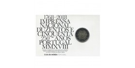 2 Euros Commémorative Portugal 2018 B.E. - Imprimerie