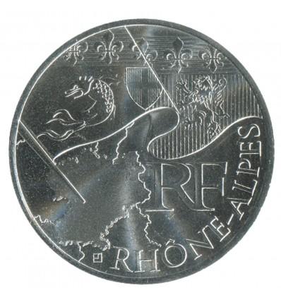 10 Euros Rhones Alpes