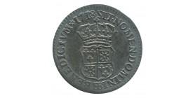 1/10 d'Ecu de Navarre - Louis XV