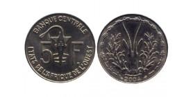 5 Francs Afrique de l'Ouest (Etats)