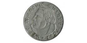2 Reichsmark Martin Wther - Allemagne