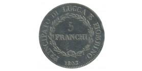 5 Franchi Lucca Piombino Felix et Elisa - Italie