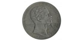 5 Lires Victor Emmanuel II - Italie Sardaigne Argent
