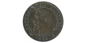 1 Centime Napoléon III Tête Nue