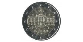 2 Euro Commémorative Allemagne 2019
