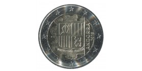 2 Euro Commémorative Andorre 2019 - Armoiries
