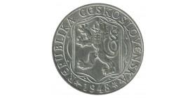 100 Couronnes Tchécoslovaquie Argent