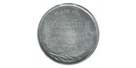 """Médaille  Fête de l'enseignement Primaire """"le matin"""""""
