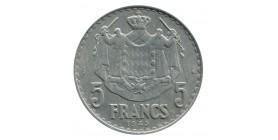 5 Francs Louis II Monaco