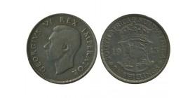 2 1/2 Shillings Georges VI Afrique du Sud Argent