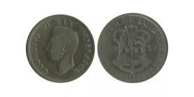 2 Shillings Georges VI Afrique du Sud Argent