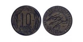 10 Francs Afrique Equatoriale - AEF - Cameroun