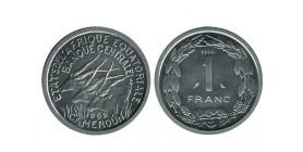 1 Franc afrique equatoriale - etats de l'afrique equatoriale