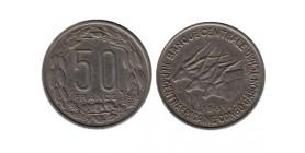 50 Francs Republiques Afrique Equatoriale - Etats de l'Afrique Equatoriale