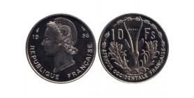 10 Francs Afrique Occidentale Française